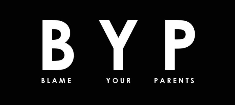 BYP BOX Logo sticker